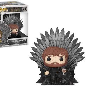 Funko Tyrion Sitting on Iron Throne